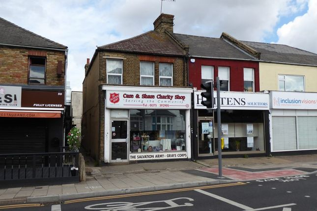 Thumbnail Retail premises for sale in 61 Orsett Road, Grays, Essex