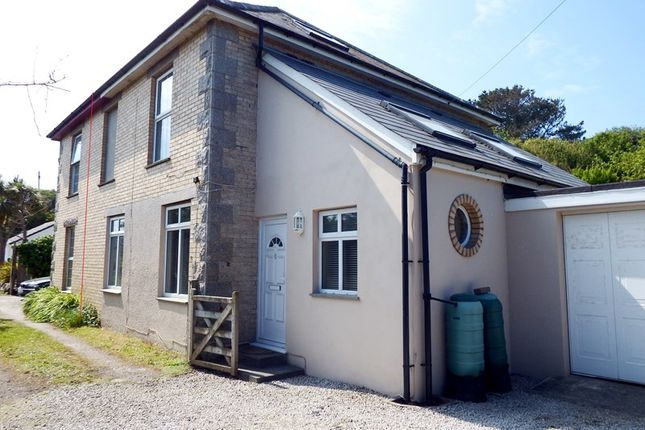 Thumbnail Semi-detached house for sale in Station Road, Perranporth
