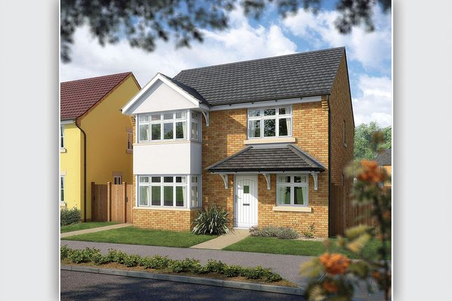 "Thumbnail Detached house for sale in ""The Canterbury"" at West Hill, Wincanton"