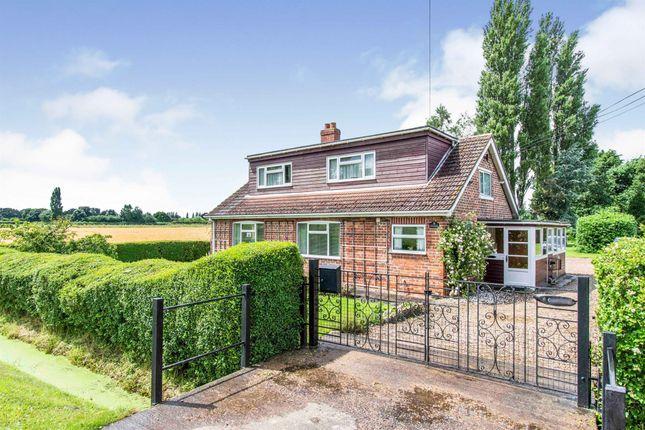 Thumbnail Detached bungalow for sale in Brierholme Carr Road, Hatfield, Doncaster