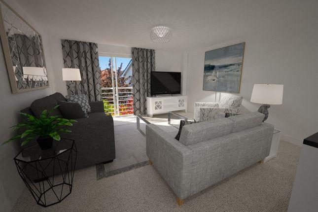 2 bedroom flat for sale in King George Court, Warwick Bridge, Carlisle
