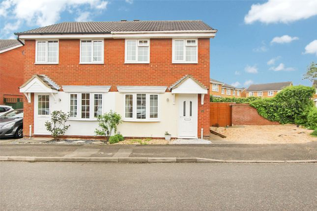 2 bed semi-detached house for sale in Thirlmere, Huntingdon, Cambridgeshire PE29