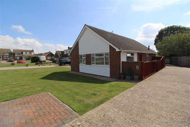 Thumbnail Detached bungalow for sale in Kingston Close, Seaford, East Sussex