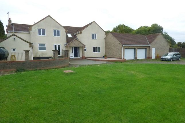 Thumbnail Detached house for sale in Drybread Road, Whittlesey, Peterborough, Cambridgeshire