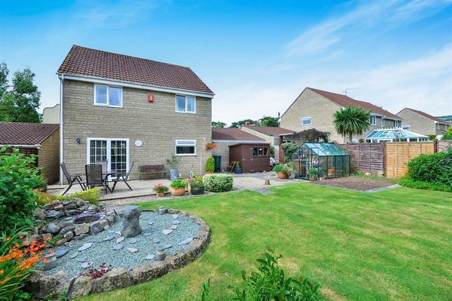 Thumbnail Detached house for sale in Station Road, Westbury Sub Mendip, Wells