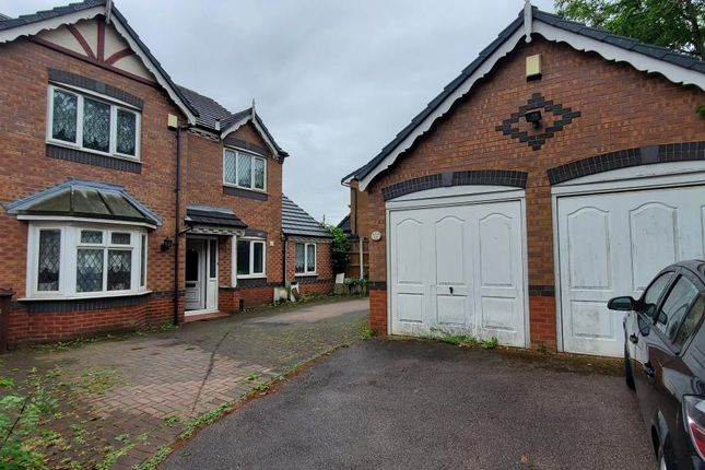 Thumbnail Detached house for sale in Davenport Road, Wednesfield, Wolverhampton