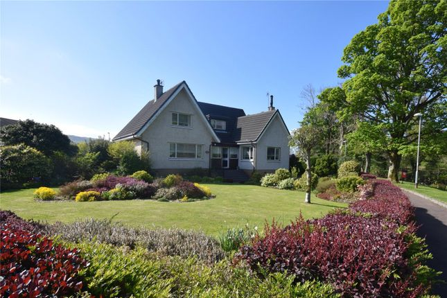 Thumbnail Detached house for sale in Glen Avenue, Largs, North Ayrshire
