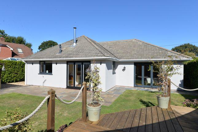 Thumbnail Detached bungalow for sale in Sylvan Close, Hordle, Lymington