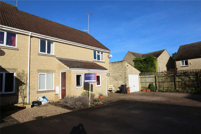 Thumbnail Terraced house to rent in Reeves Close, Cirencester