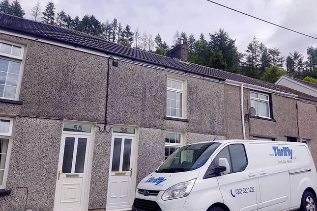 Thumbnail Terraced house to rent in Long Row, Blaenllechau, Ferndale