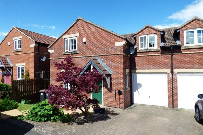Thumbnail Semi-detached house for sale in Hillgarth, Consett