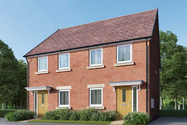 """Thumbnail Semi-detached house for sale in """"The Remstone"""" at Bede Ling, West Bridgford, Nottingham"""