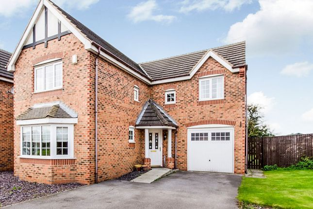 Thumbnail Detached house for sale in Rowan Close, Eggborough, Goole