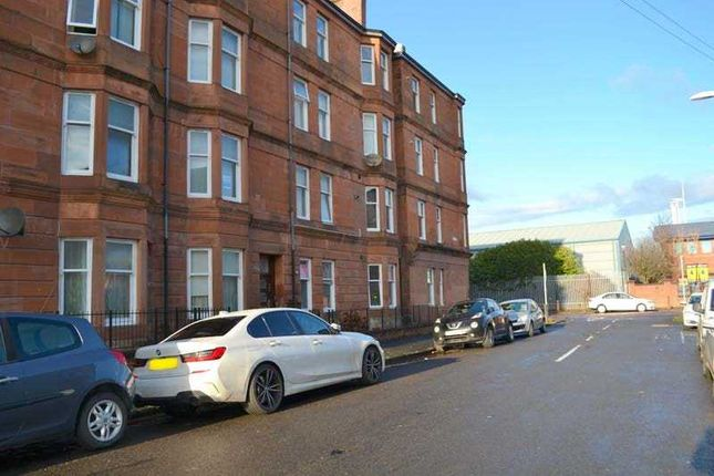 Thumbnail 1 bed flat for sale in Harley Street, Ibrox, Glasgow