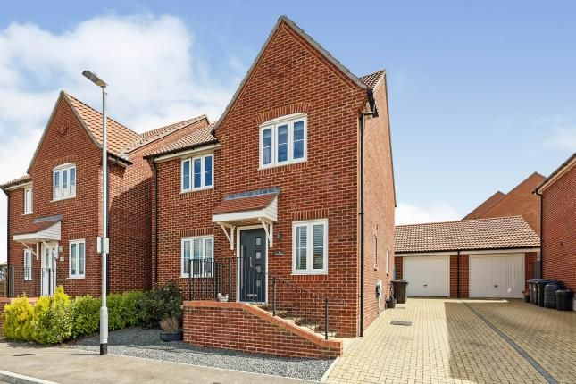 Thumbnail Detached house for sale in Field View Road, Whitfield, Dover, Kent