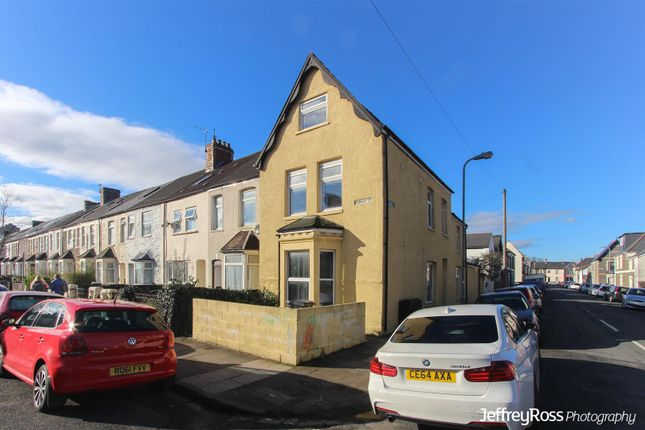 Thumbnail End terrace house for sale in Harriet Street, Cathays, Cardiff