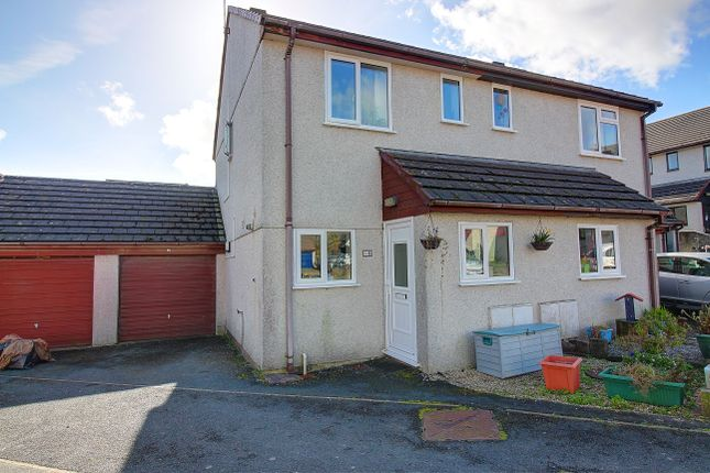 Thumbnail Semi-detached house for sale in The Lawns, Wilcove, Torpoint