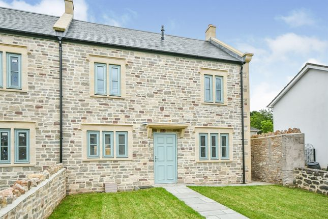 4 bed end terrace house for sale in Long Street, Croscombe, Wells BA5