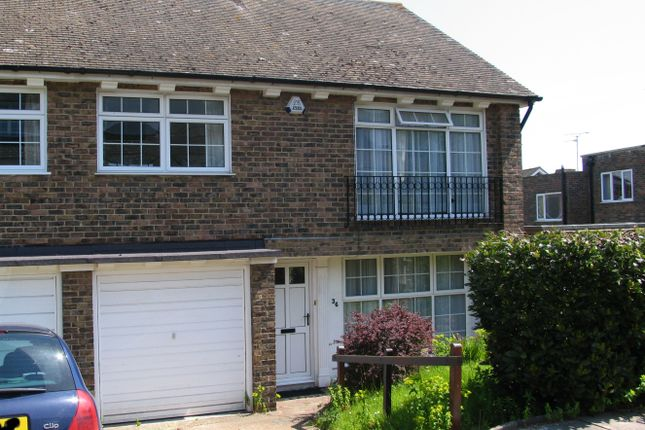 Thumbnail Semi-detached house to rent in Rufus Close, Lewes