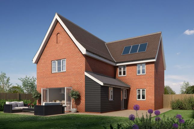 Thumbnail Detached house for sale in Newton, Sudbury, Suffolk