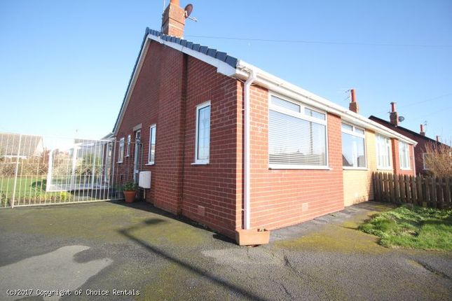 Thumbnail Bungalow to rent in Tyne Close, Cleveleys