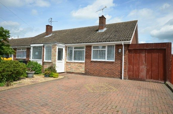 Thumbnail Semi-detached bungalow to rent in Shire Road, Corby