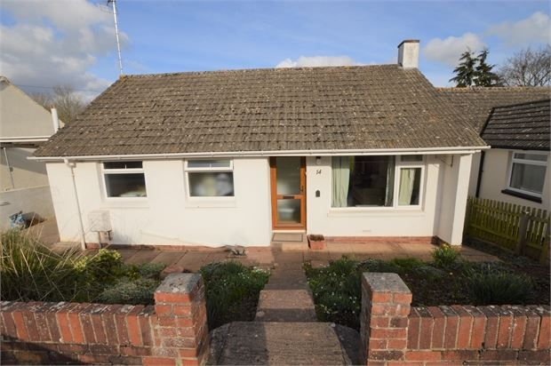 Thumbnail Detached bungalow for sale in Forde Close, Abbotskerswell, Newton Abbot, Devon.