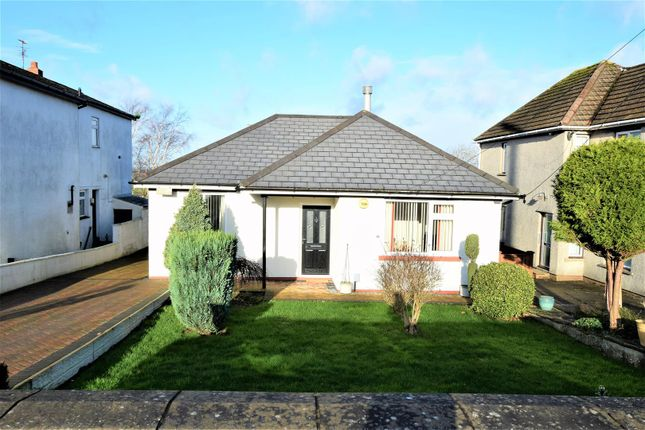 Thumbnail Bungalow for sale in Port Road East, Barry