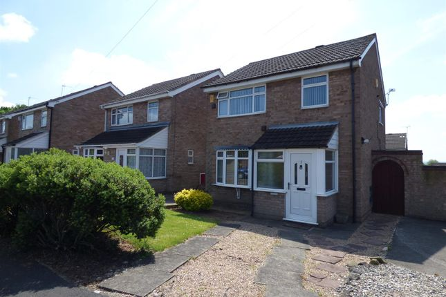 Thumbnail Semi-detached house to rent in Eardley Close, Chaddesden, Derby