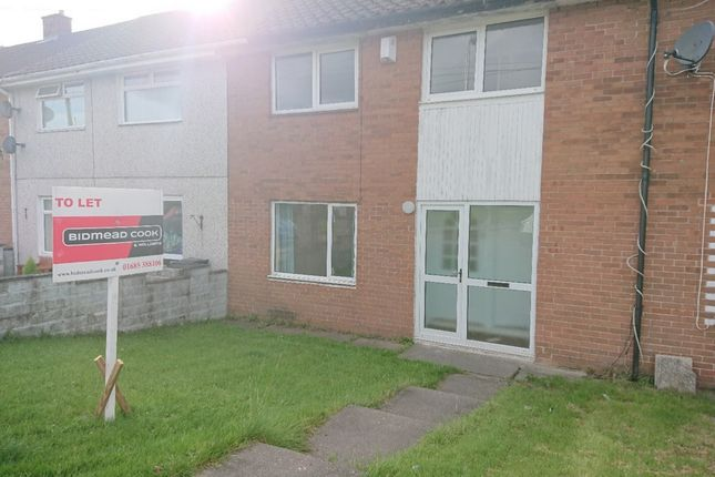 Thumbnail Terraced house to rent in Hawthorn Avenue, Gurnos