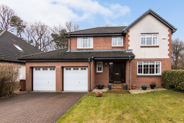 Thumbnail Detached house for sale in Saltcoats Gardens, Bellsquarry, Livingston