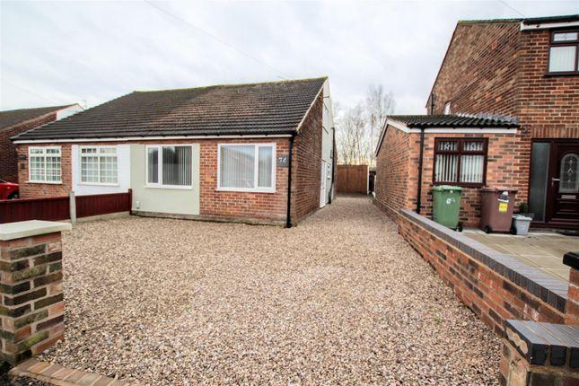 Thumbnail Semi-detached bungalow to rent in Amanda Road, Rainhill