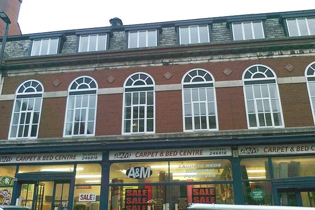 Thumbnail Flat to rent in Library Street, Wigan