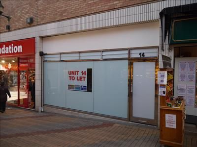 Thumbnail Retail premises to let in Unit 14, Middle Entry Shopping Centre, Tamworth