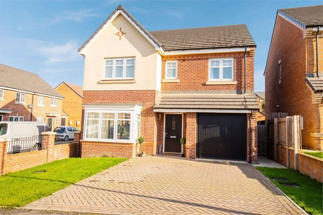 Thumbnail Detached house for sale in Aberford Drive, Houghton Le Spring, Tyne And Wear
