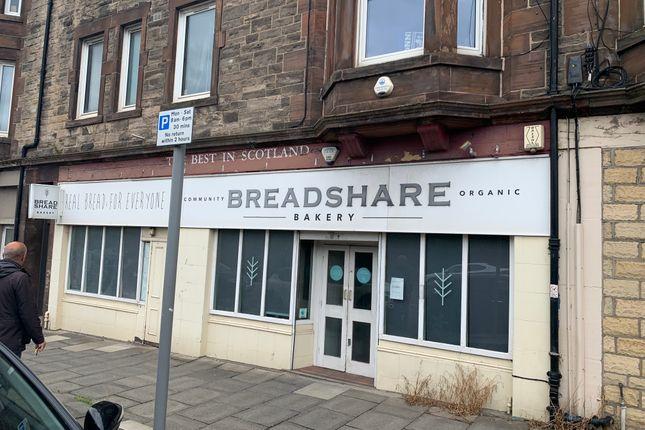 Thumbnail Restaurant/cafe to let in Seafield Road East, Edinburgh
