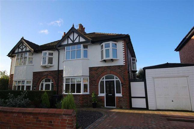 Thumbnail Semi-detached house for sale in Roseway, Ashton-On-Ribble, Preston