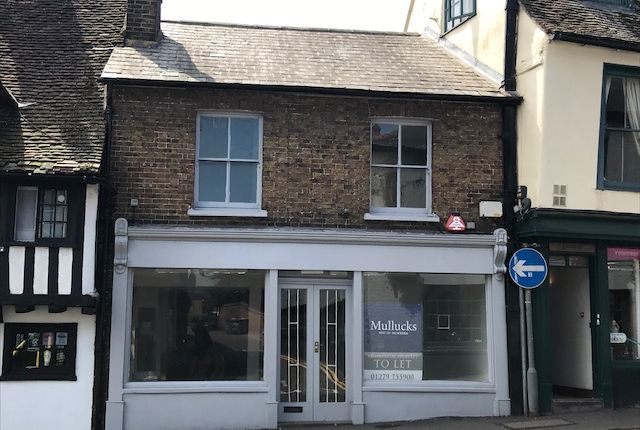 Thumbnail Retail premises to let in Bridge Street, Bishop's Stortford