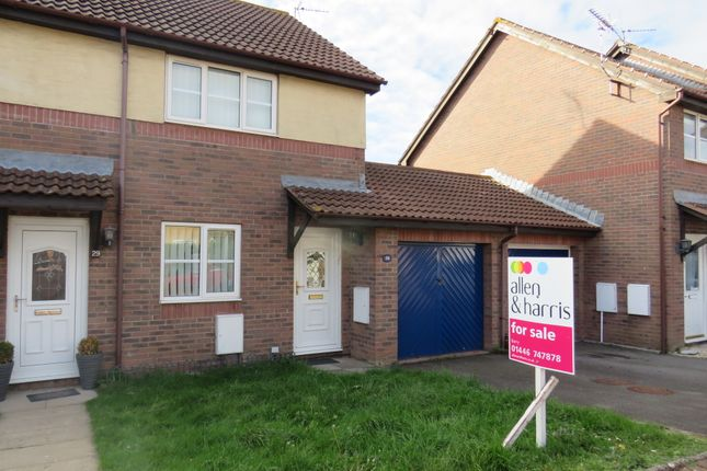 Thumbnail Semi-detached house for sale in Greenacres, Barry