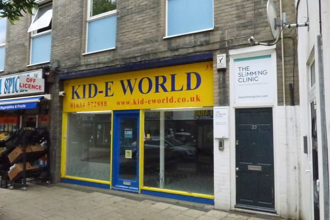 Thumbnail Retail premises to let in High Street, Gillingham, Kent