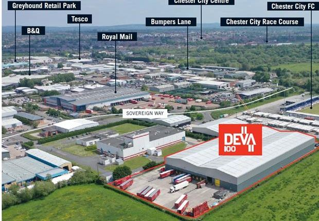 Thumbnail Industrial to let in Deva 100, Chester West Employment Park, Chester, Cheshire
