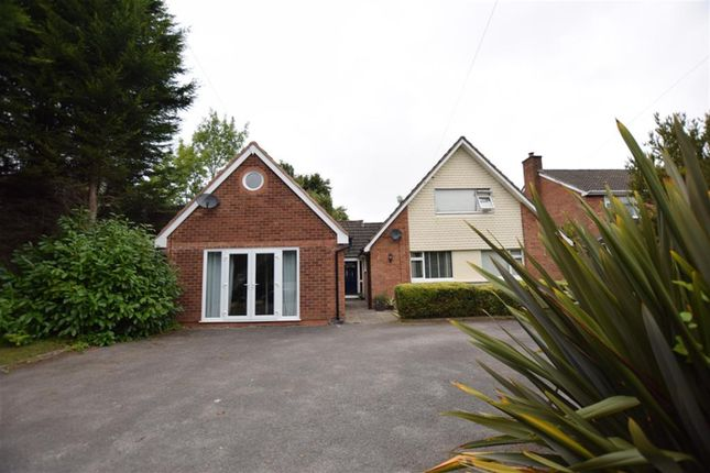 Thumbnail Detached bungalow for sale in Gentleshaw Lane, Solihull, West Midlands