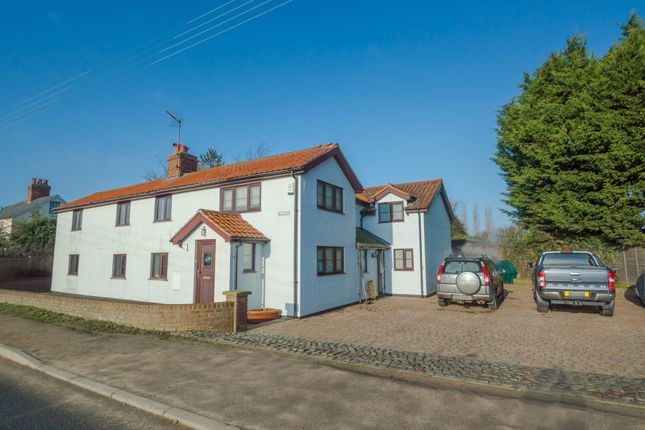 Thumbnail Detached house for sale in Haverhill Road, Little Wratting, Haverhill