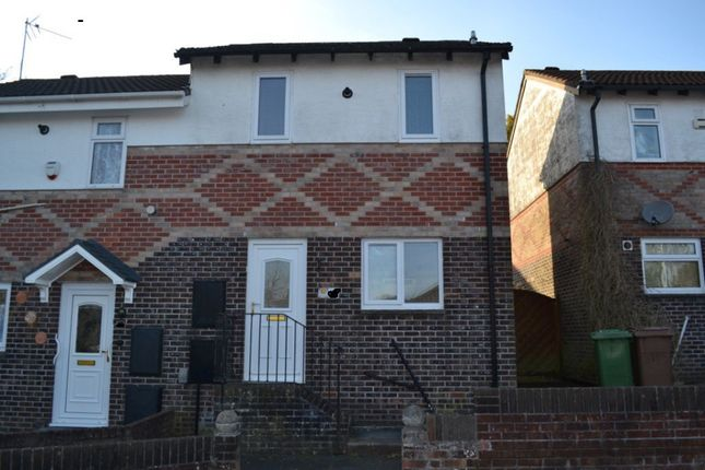Thumbnail Semi-detached house to rent in Warwick Orchard Close, Plymouth