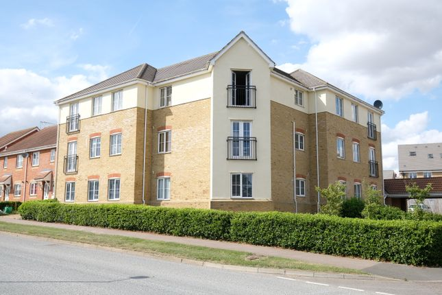 Thumbnail Flat to rent in Byron Close, Stowmarket