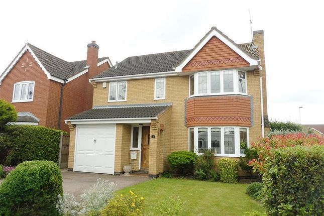Thumbnail Detached house to rent in Charles Way, Whetstone, Leicester