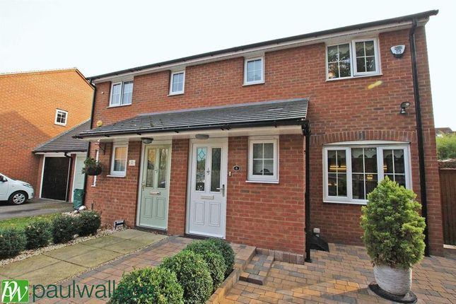 3 bed semi-detached house for sale in Thunderfield Close, Broxbourne