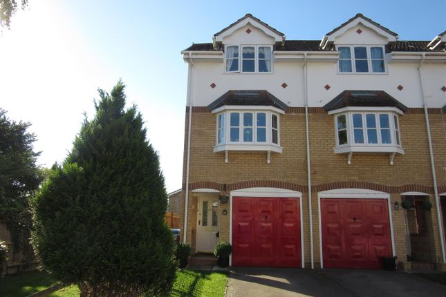 Thumbnail Town house for sale in Harcourt, Wraysbury, Berskhire