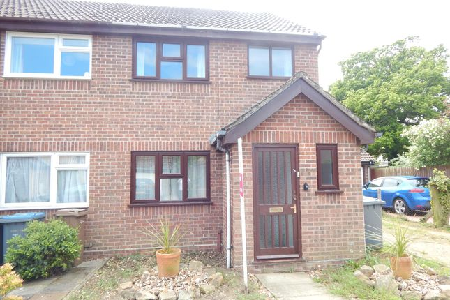 3 bed end terrace house to rent in Hall Farm Close, Melton, Woodbridge IP12
