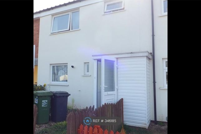 Thumbnail End terrace house to rent in Ombersley Close, Redditch